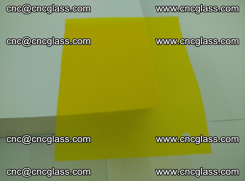 Eva glass laminating interlayer foil film Transparent clear color (yellow lemon) (4)