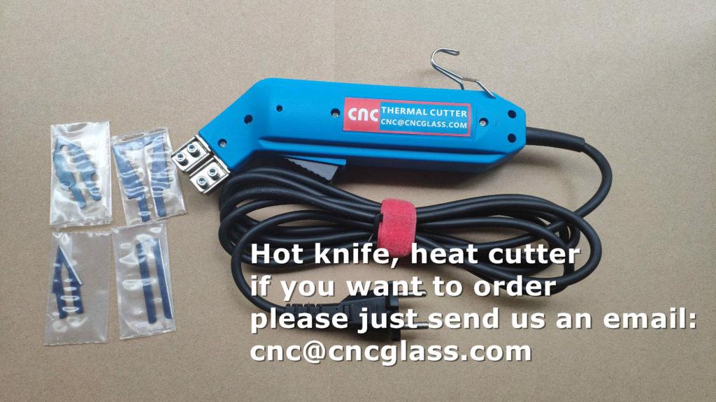 Hot knife, heat cutter, heating trimmer