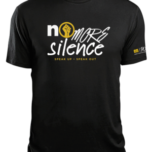 No More Silence Black T-Shirt