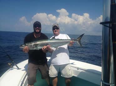 destin fishing charter captain Kirk Pristas