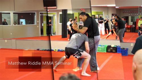 MMA Training Seminar