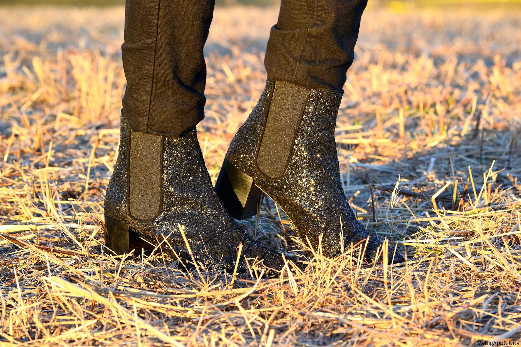 Zara-Glitter-Boots-NYC-Streetstyle-shopping-OOTD