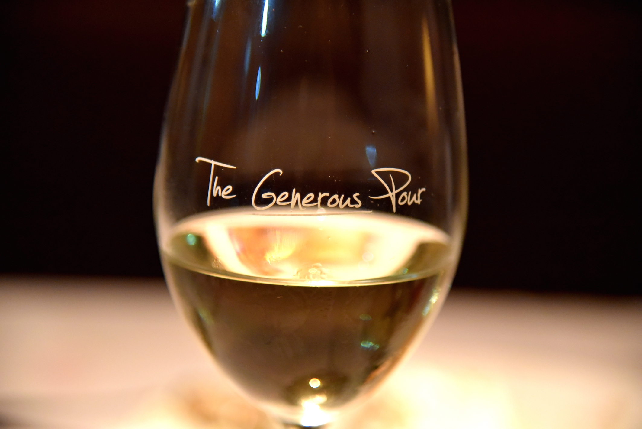 The Generous Pour Wine event at Capital Grille NYC
