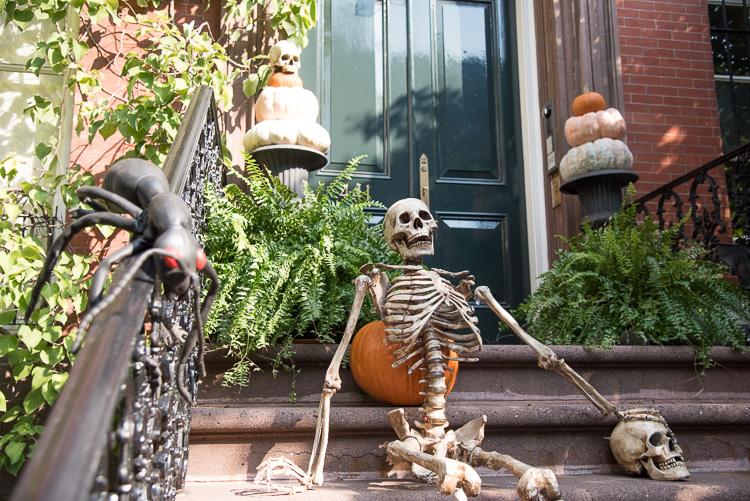 Halloween decoration new york NYC travel blog