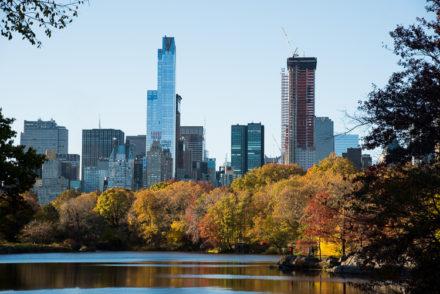 visiter Central Park en automne 2016