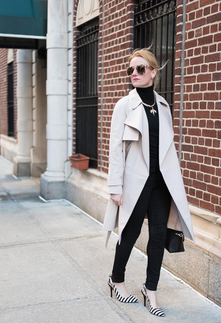 Spring Shopping Asos Trenchcoat NYC Fashion blogger