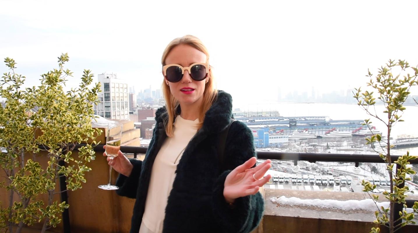 Blog mode New York Fashion Week Vlog Youtubeuse NYC