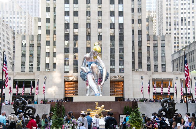Blog voyage New York Jeff Koons Ballerina NYC Mybigapplecity