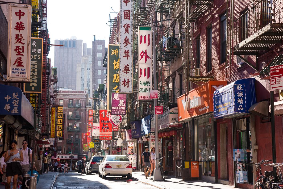 Voyage à New York visiter Chinatown NYC