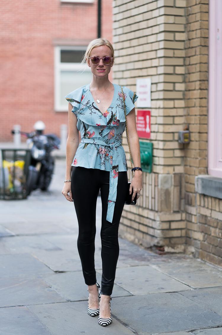NYC Fashion blogger holiday look