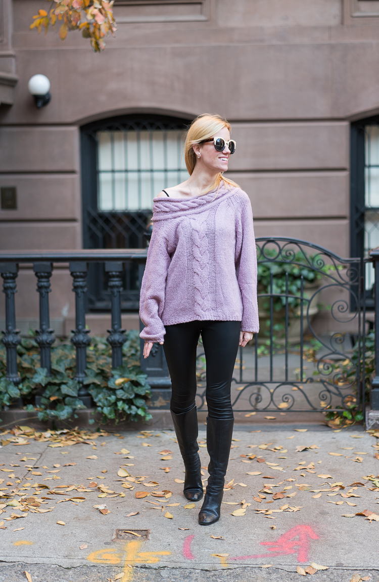 NYC Blogger Winter 2017 look SheIn