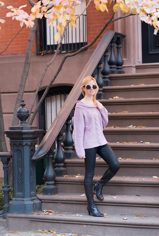 Fashion blogger West Village NYC