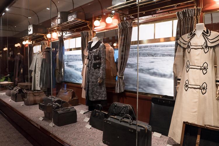 Train travel in style Louis Vuitton exhibition New York 2018