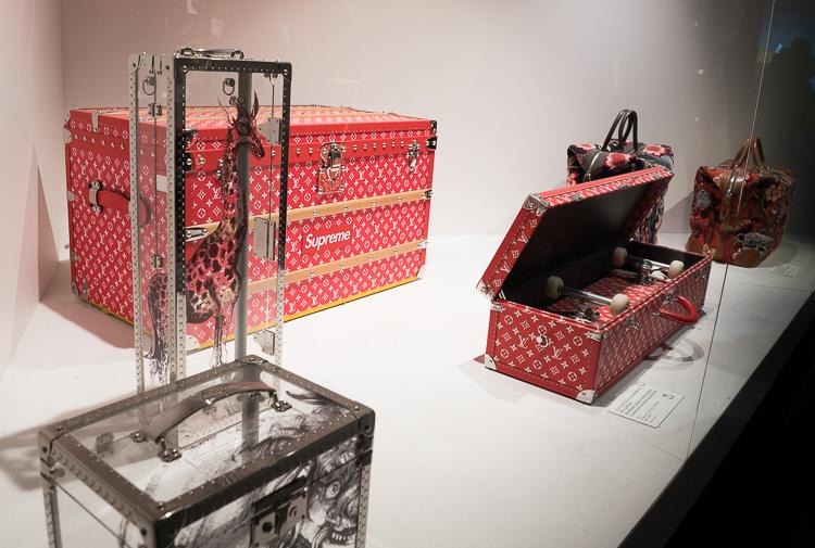 Supreme Louis Vuitton exhibition New York 2018