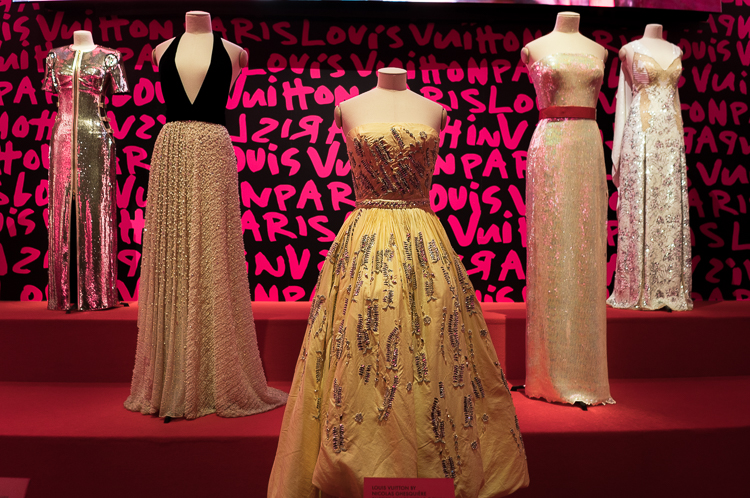 MET Gala Louis Vuitton Gown Oscars NYC