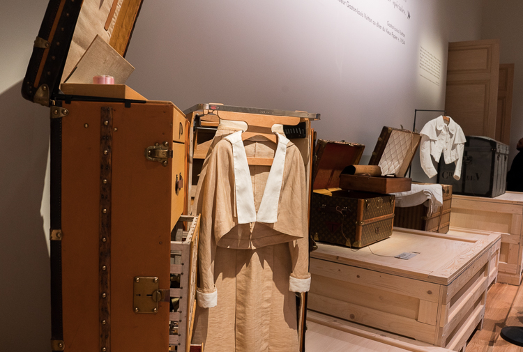 Trunk exhibit Louis Vuitton exhibition New York 2018