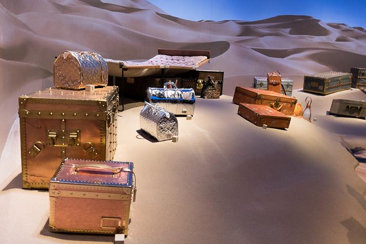 Desert travel Louis Vuitton exhibition New York 2018