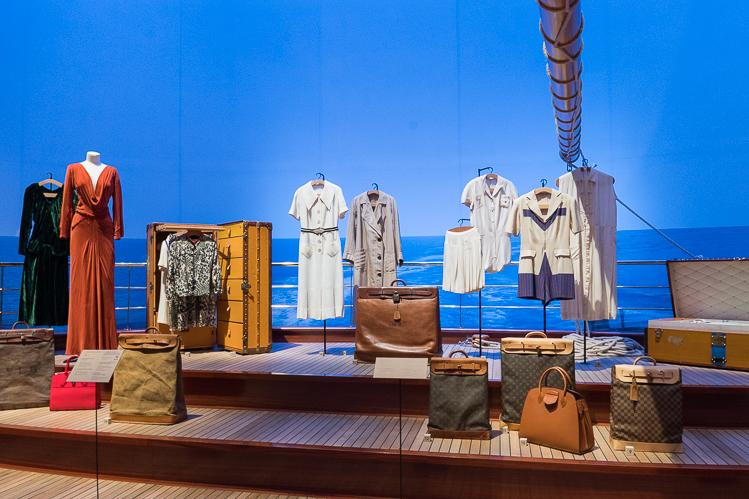 Louis Vuitton cruising New York