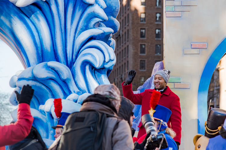 John Legend Macy's Thanksgiving parade 2018 NYC