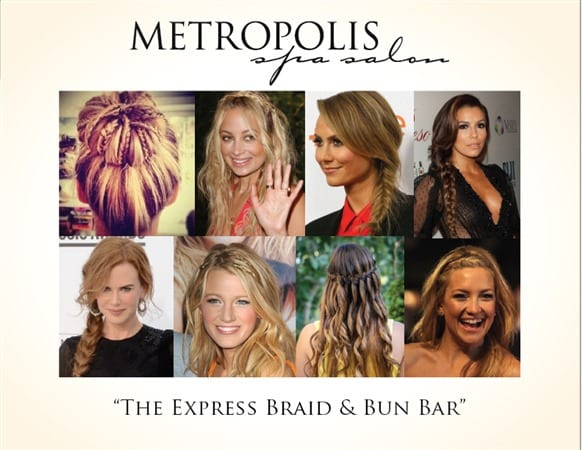 BRAID and BAR hairstyle