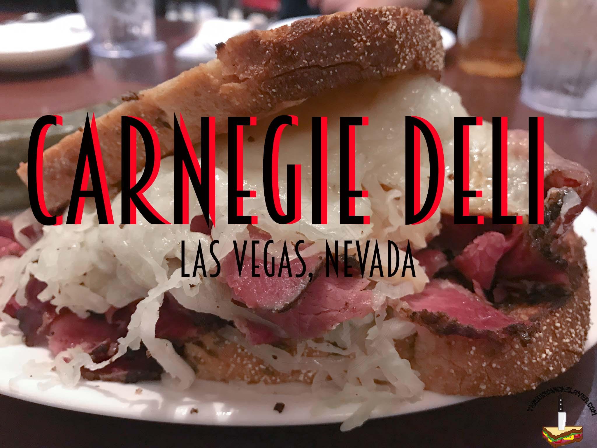 Carnegie Deli Las Vegas