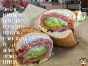 The Italian from Moe's Deli