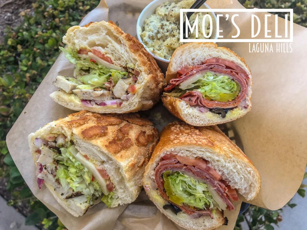 Moe's Deli Dutch Crunch Bread