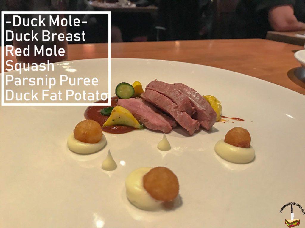 Duck Bread Mole