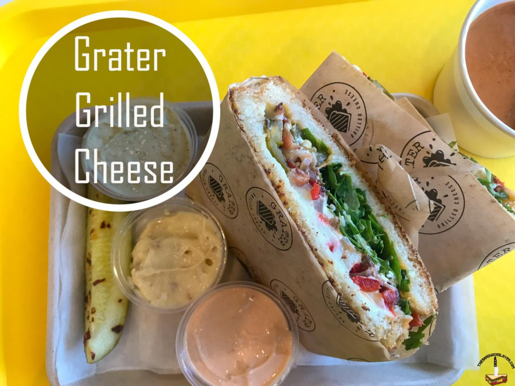 Top Sandwich 2018 Grater Grilled Cheese