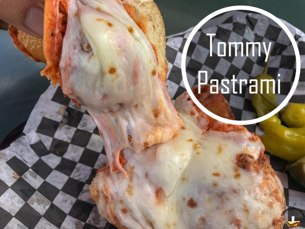 Tommy Pastrami Meatball sub