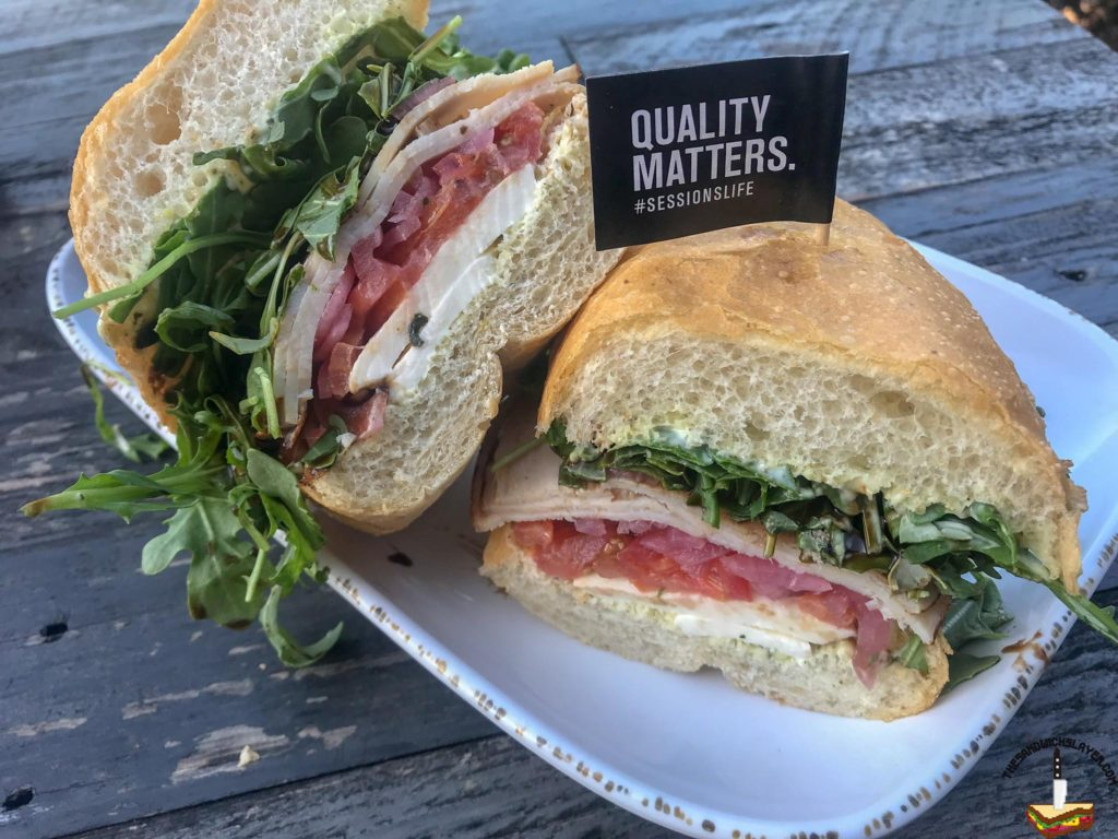 The Summer Zephyr sandwich