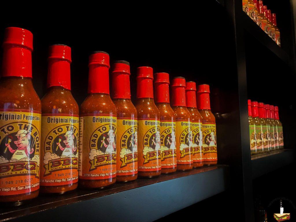 Bad to the bone BBQ Market hot sauce