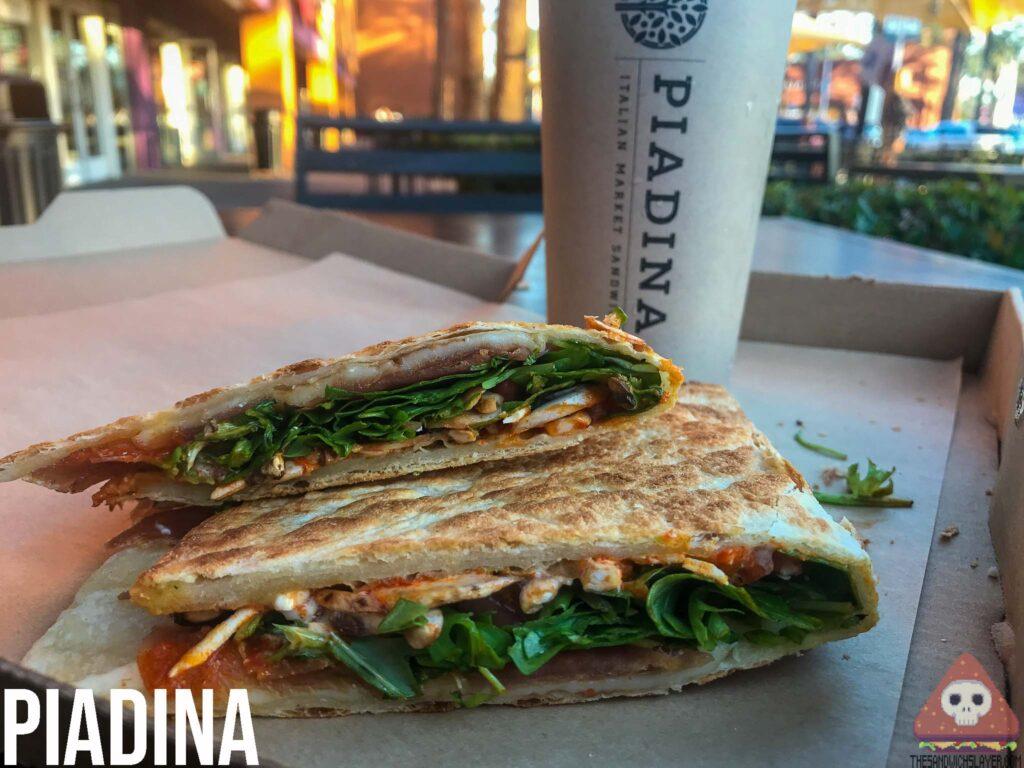 Piadina prosciutto Italian Sandwich