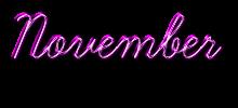 November LOG
