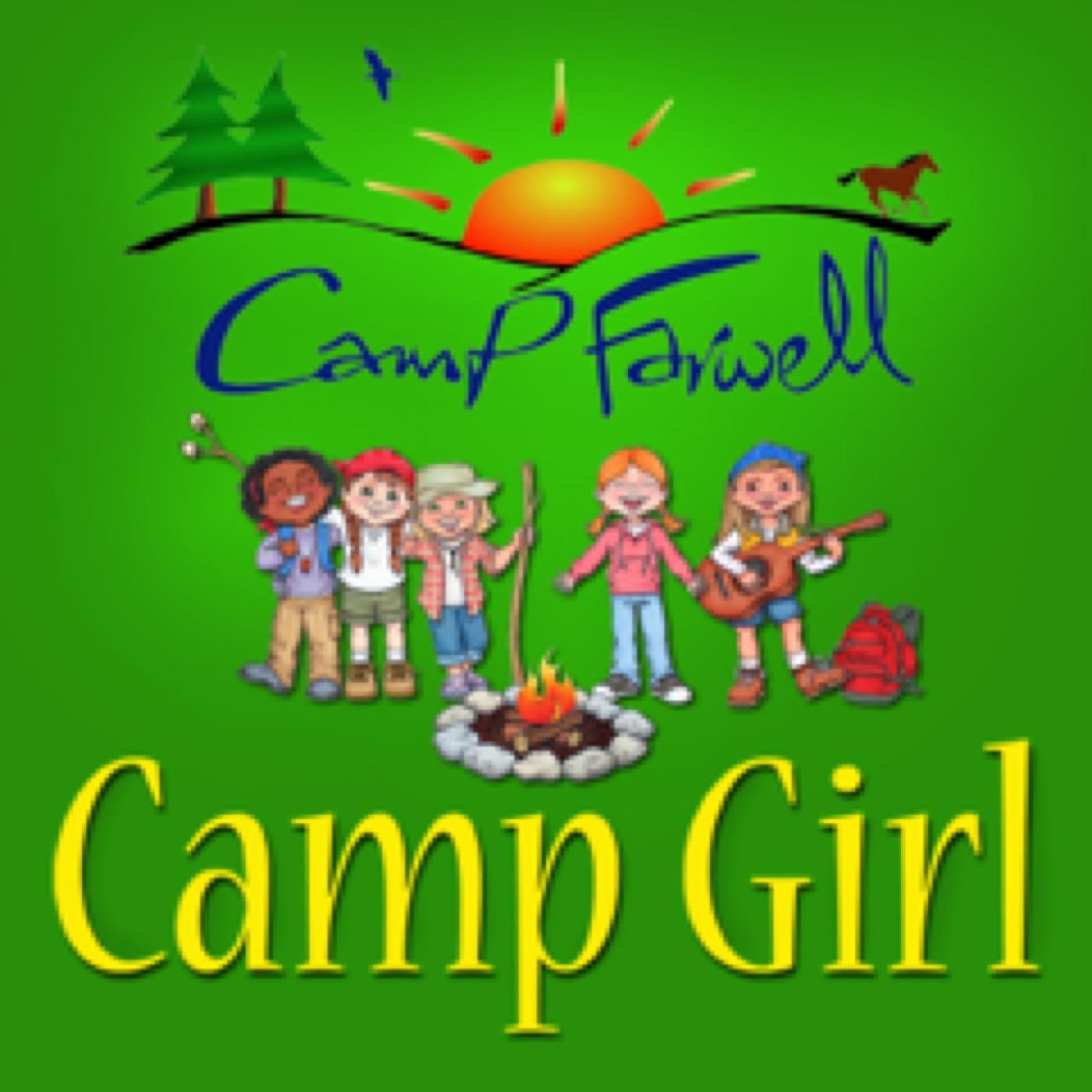 Camp Girl Podcast logo
