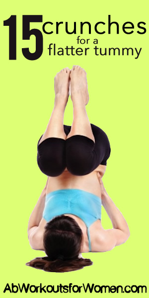 ab crunches for a flatter tummy