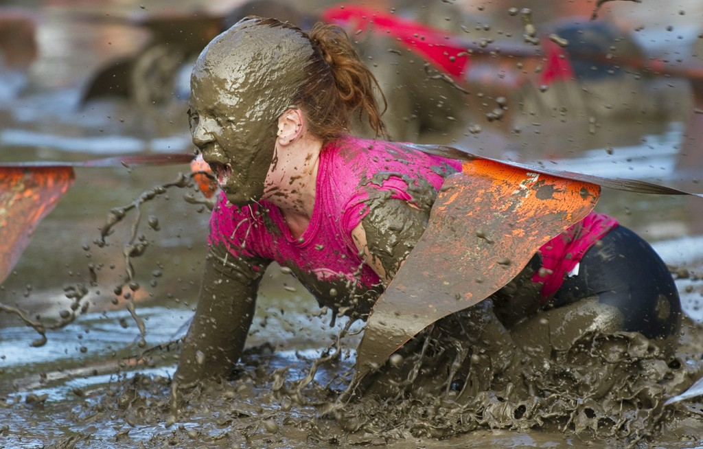 down and dirty mud run obstacle race