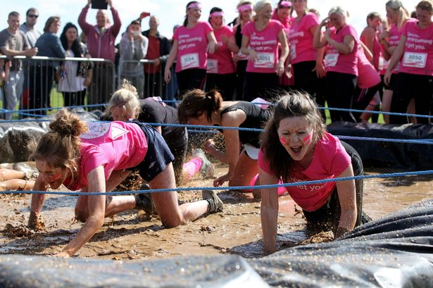 pretty muddy obstacle race