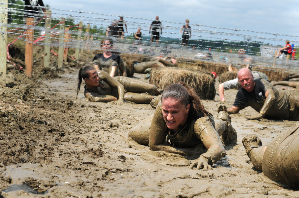 Spartan mud obstacle race