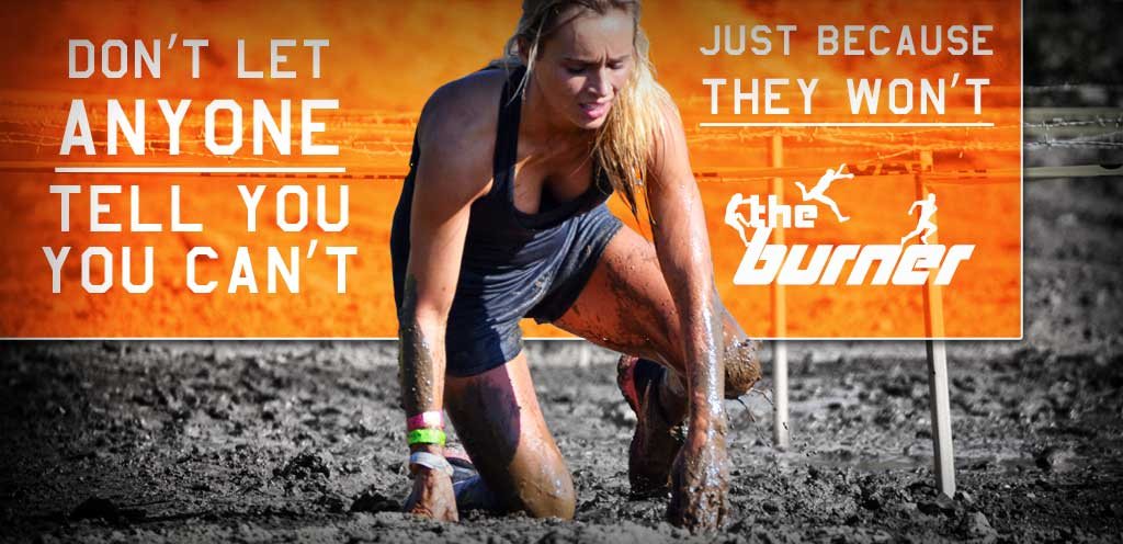 the burner obstacle race