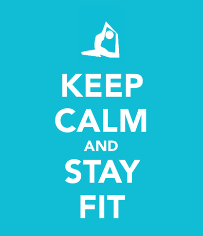 Fitness Motivational Quotes Keep Calm And Stay FIT