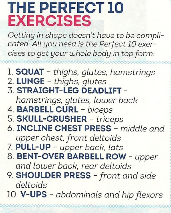 Fitness Motivational Quotes The Perfect 10 Exercise