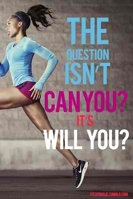 Fitness Motivational Quotes The Question Isn't Can You, It's Will You