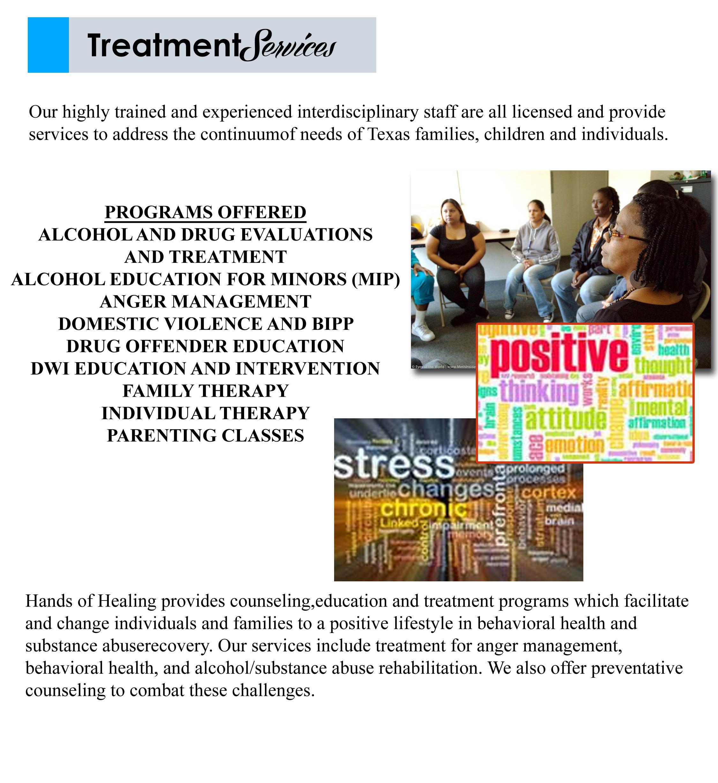treatment services