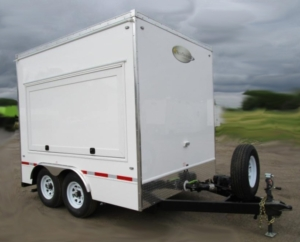HAND WASHING TRAILERS EXTERIOR DOOR CLOSED