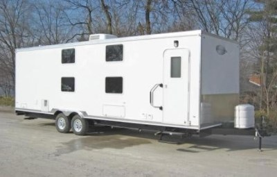 BUNK HOUSE TRAILERS EXTERIOR