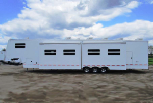 emergency response trailers exterior slide rooms