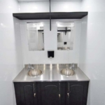 semi shower trailers Double Sinks