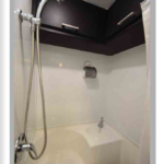 semi trailer conversion with showers
