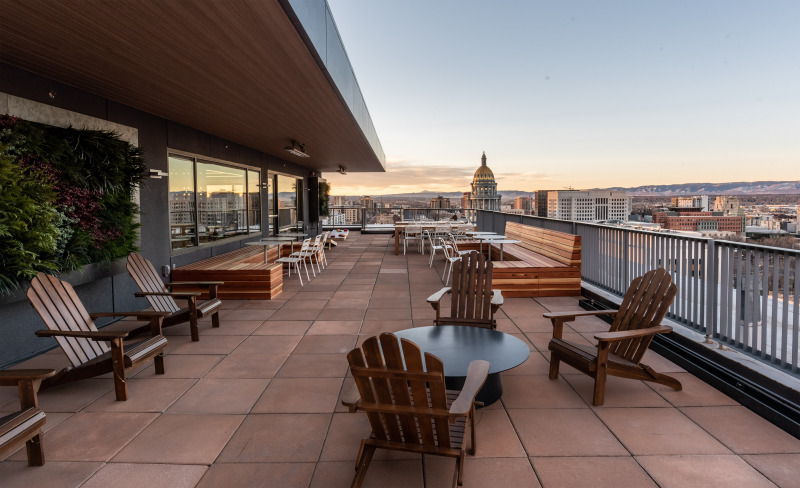 The Capitol Center Rooftop Patio